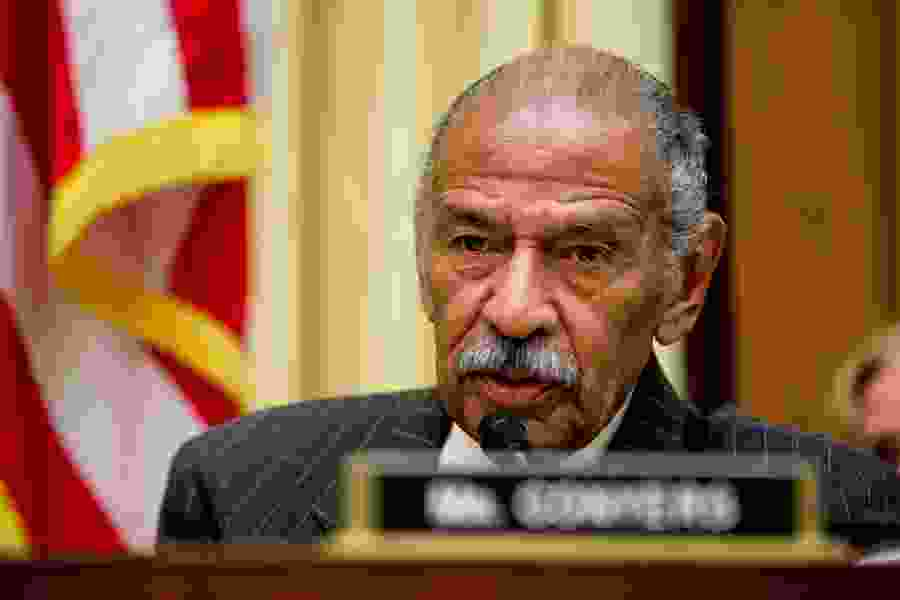 U.S. Rep. John Conyers, who faces allegations of sexual harassment, says he is retiring today