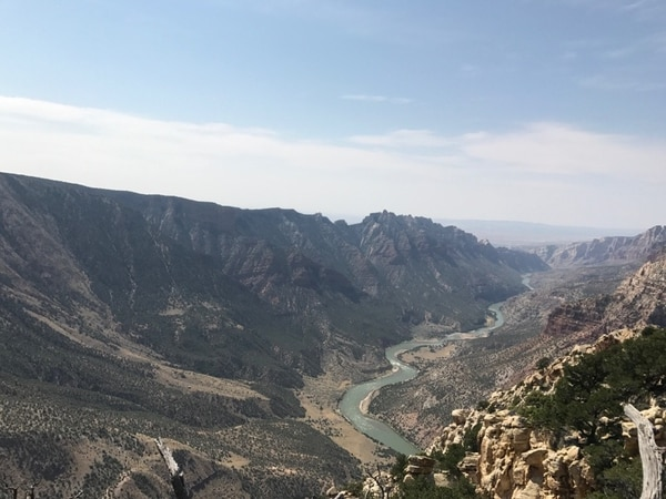 The Green River sits below the Ruple Point Trail at Dinosaur National Monument on Sept. 9, 2017. Photo by Nate Carlisle/The Salt Lake Tribune