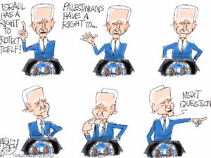 The Palestinian Question | Pat Bagley