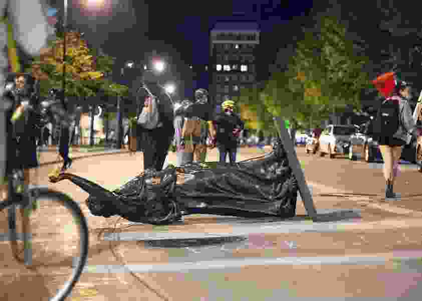 Letter: We can't erase history by toppling statues