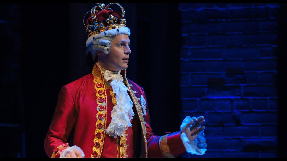 (Photo courtesy of Disney+) Jonathan Groff as King George III in