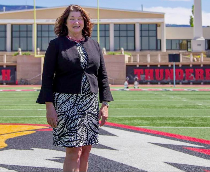 Southern Utah takes interim tag off of athletic director Debbie Corum's job title