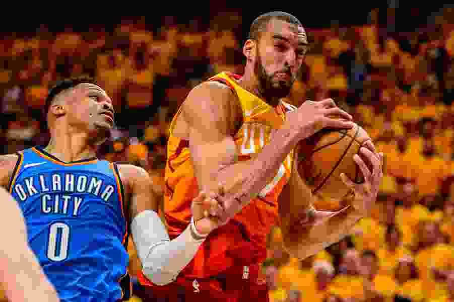 Rudy Gobert has been the difference against the Thunder, and time is running out for them to solve the Jazz big man