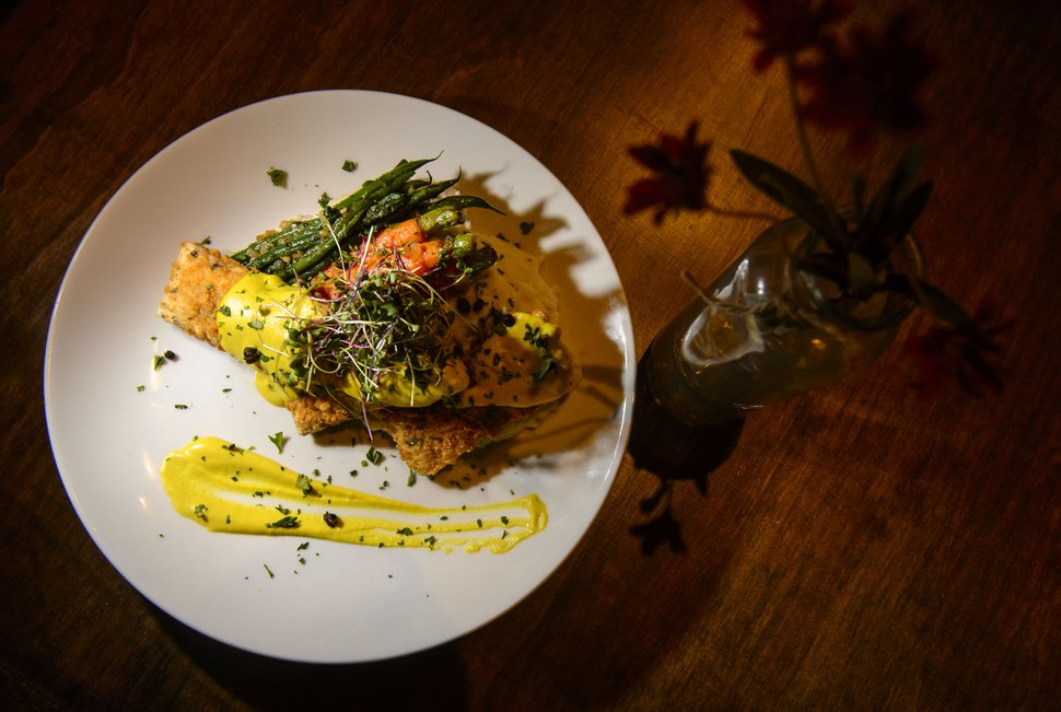 (Steve Griffin | The Salt Lake Tribune) The tofu piccata at Seasons Plant Based Bistro.