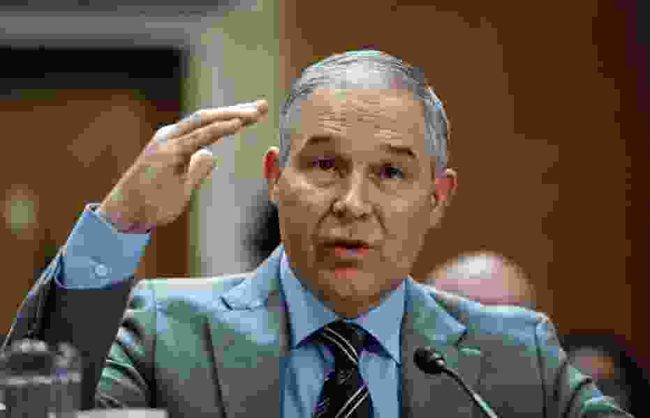 EPA Chief Says He Flies First-Class for Security