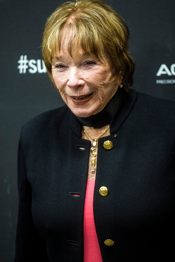 Chris Detrick | The Salt Lake Tribune Shirley MacLaine poses for photographs before the premiere of 'The Last Word' at the Eccles Theater during the 2017 Sundance Film Festival in Park City Tuesday January 24, 2017.