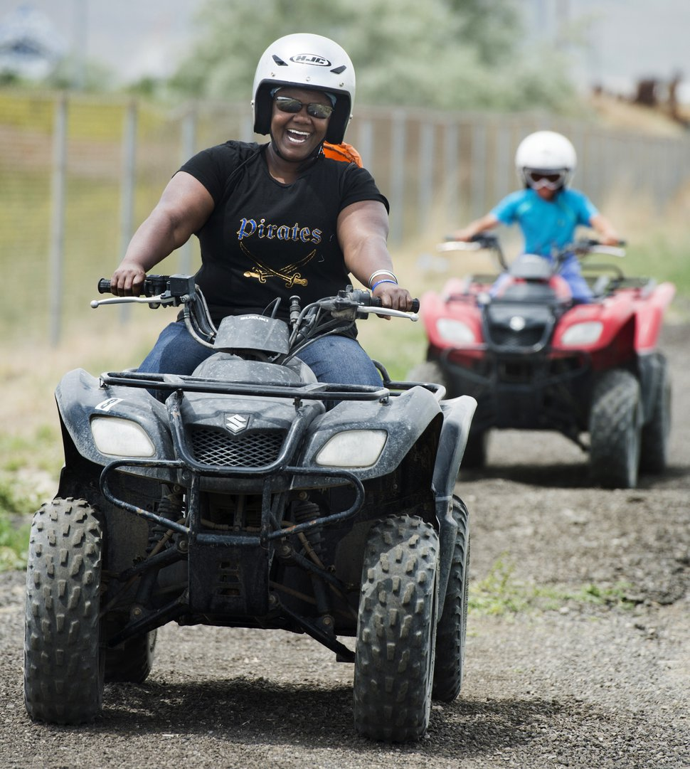 (Rick Egan | Tribune file photo) Riders try out ATVs for the first time during the 2016 Outdoor Adventure Days at the Lee Kay Public Shooting Range in Salt Lake City.