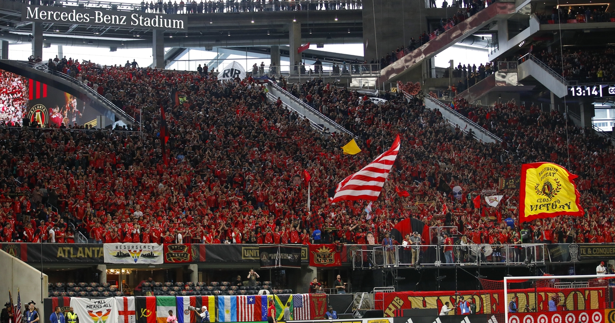 Mls week in review atlanta united sets yet another for Mercedes benz stadium atlanta capacity