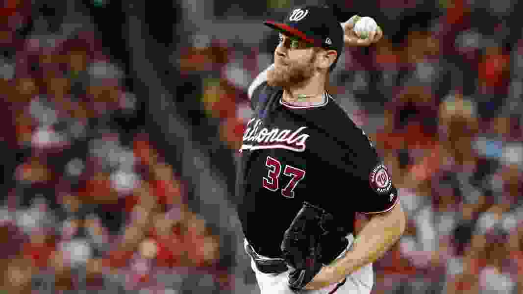 Stephen Strasburg strikes out 12, Nationals rout Cardinals 8-1 to take 3-0 lead in NLCS