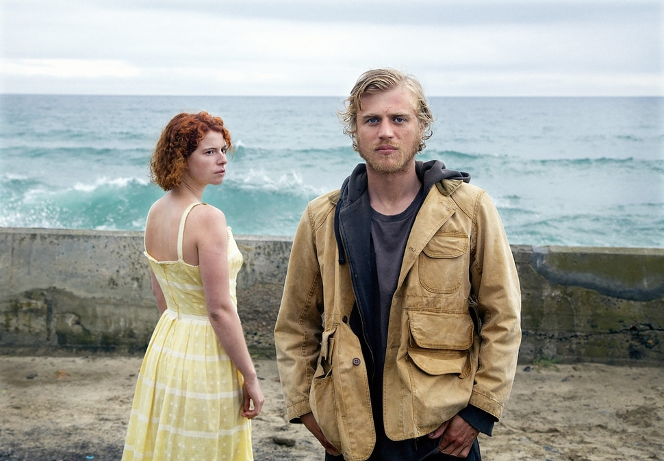 (Kerry Bowen | courtesy Sundance Institute) A small-town woman (Jessie Buckley, left) falls for a mysterious stranger ( Johnny Flynn) in Michael Pearce's Beast, which will screen in the Spotlight section of the 2018 Sundance Film Festival.