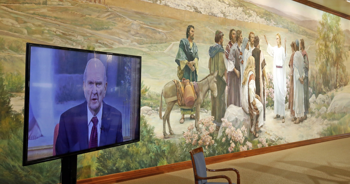 A 'humbled' Russell M. Nelson is new Mormon church prophet; he picks Oaks and Eyring to join him as counselors