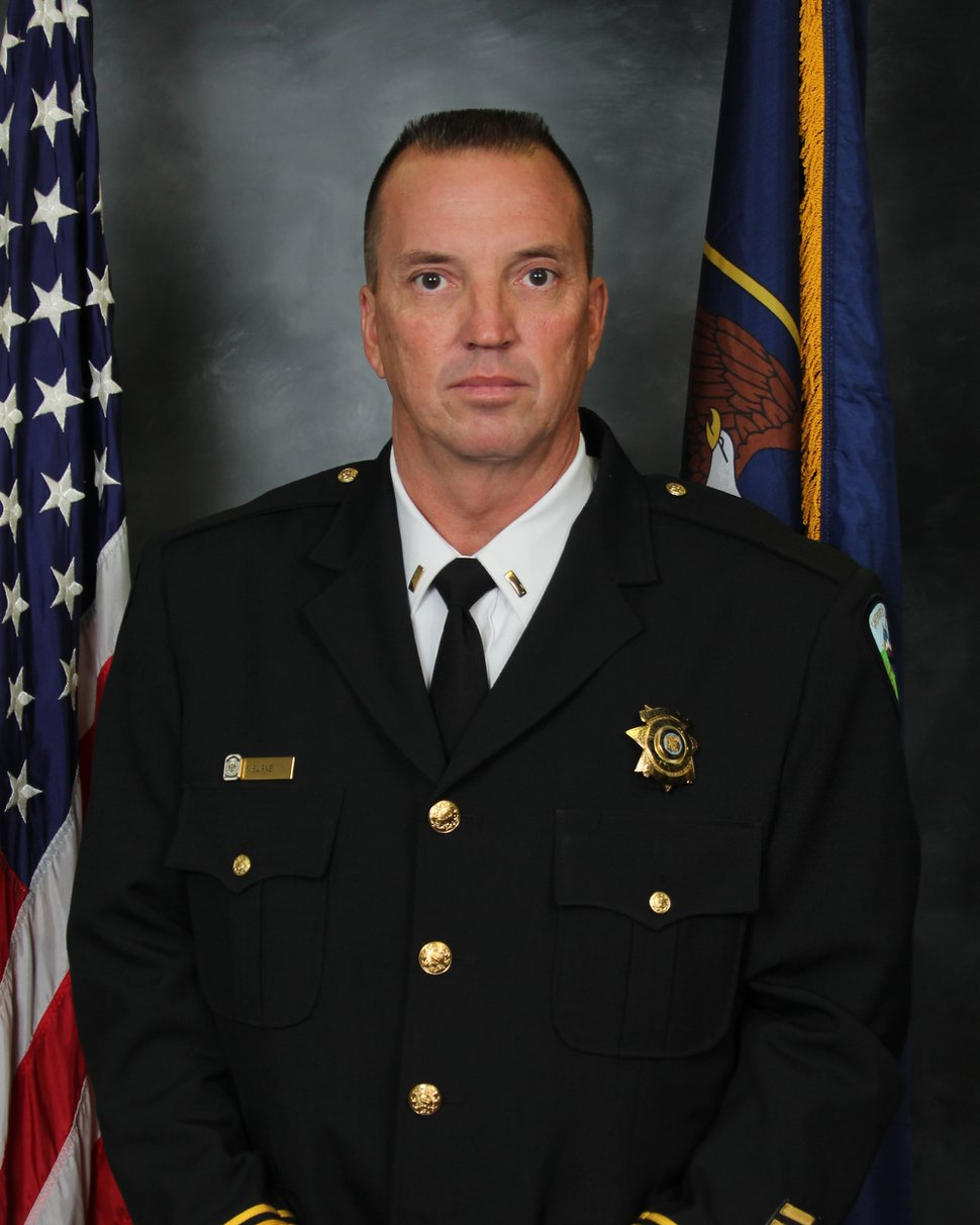 (Photo courtesy of the Weber County Sheriff's Office) Former Chief Deputy Kevin Burns, who was forced out of the Weber County Sheriff's Office this week after an internal review found an evidence technician he was supervising stole drugs from the evidence room.