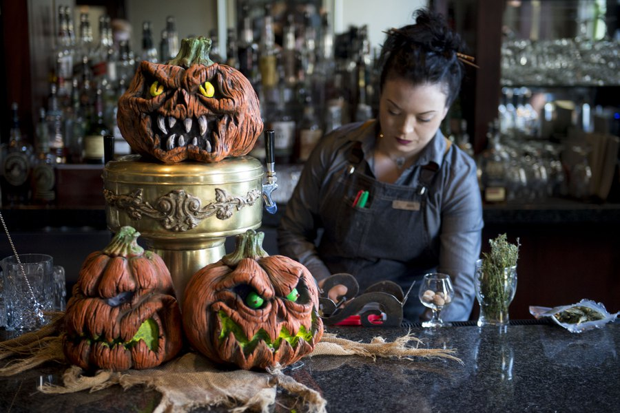 Spooky Halloween fun for adults at this Salt Lake City pop-up bar