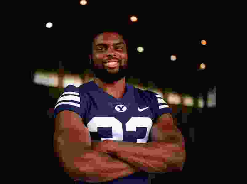 With Ty'son Williams' season over, BYU now looking to Emmanuel Esukpa to help carry the rushing load