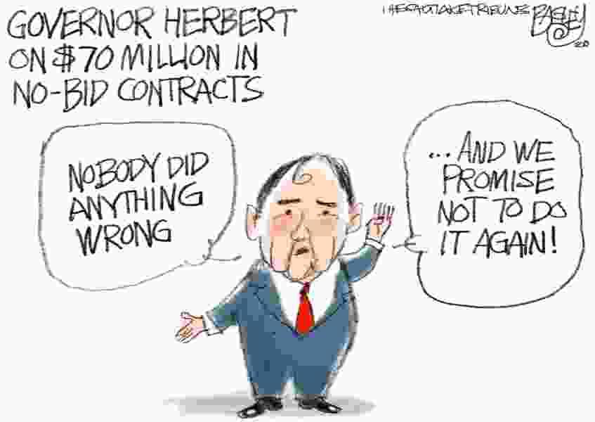 Bagley Cartoon: Well-run State