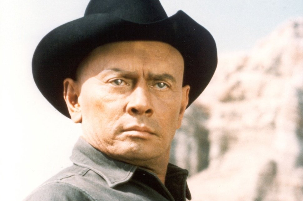 ( Courtesy MGM) Yul Brynner played a robot gunslinger in a theme park in