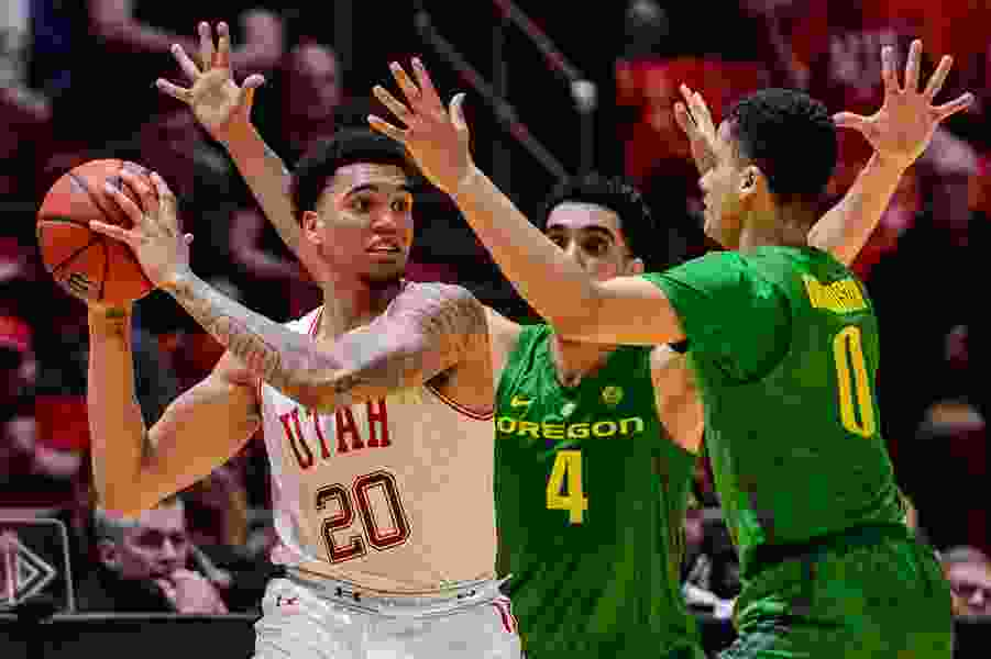 Utes will host Oregon and Oregon State to begin the Pac-12 men's basketball schedule