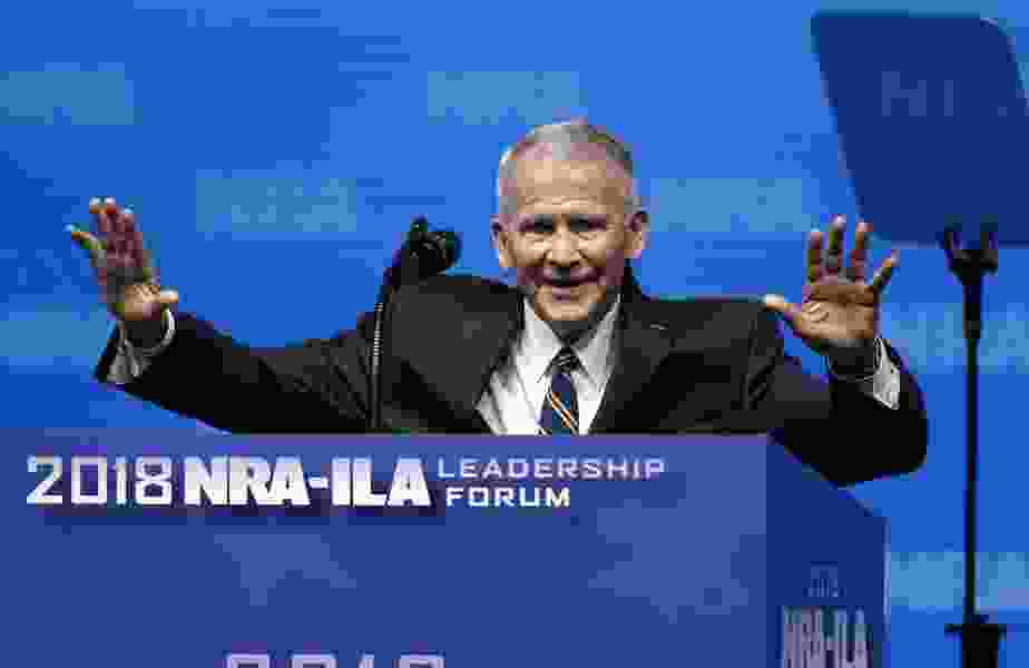 'Jesus loves me and my guns': Faith and firearms touted at the NRA's prayer breakfast