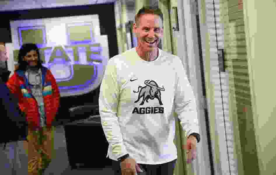 Aggies officially kick off spring ball under Gary Andersen