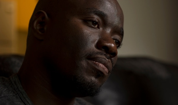 (Leah Hogsten | The Salt Lake Tribune) In his native Uganda, a place where being gay can send you to prison, Barnabas Wobiliya risked his life as an advocate for AIDS education and equality for the LGBTQ community. Threatened with death, he fled and spent a year in refugee camps before resettlement in Utah. Wobiliya is using the Internet to continue his activism for others in Africa's LGBTQ community.