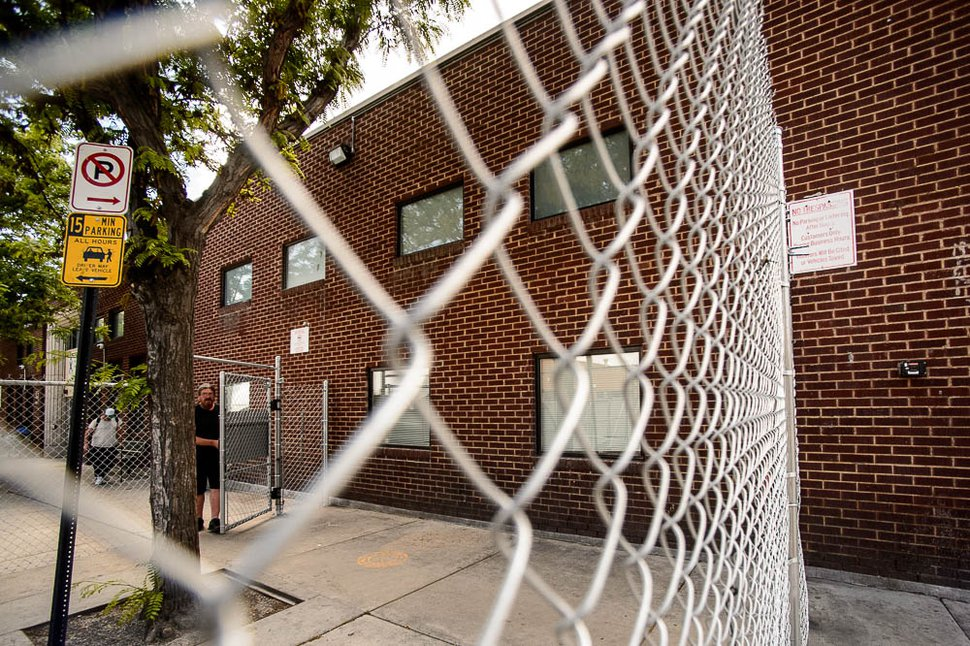 (Trent Nelson   Tribune file photo) The Road Home's shelter in Salt Lake City, May 15, 2018. The emergency shelter, with a capacity of 1,100, has now been closed and three smaller resource centers have opened in the Salt Lake area.