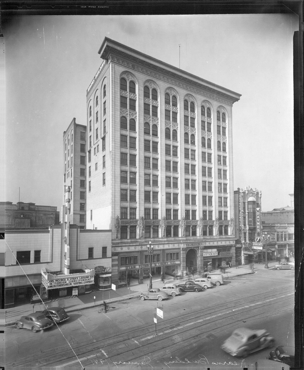 (Tribune file photo) This undated photograph shows the Kearns Building.