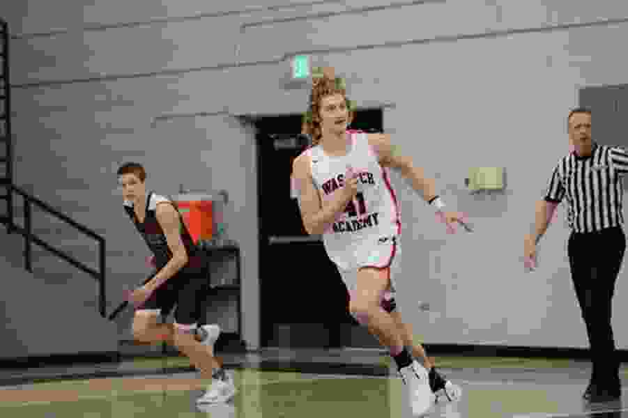 Wasatch Academy's Caleb Lohner would be a huge get for BYU's new basketball coach. Can Mark Pope close the deal?