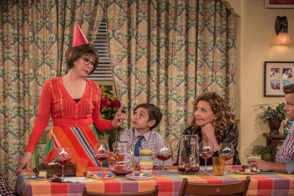 "(Michael Yarish | Netflix) Rita Moreno, Marcel Ruiz and Justina Machado star in ""One Day at a Time."""