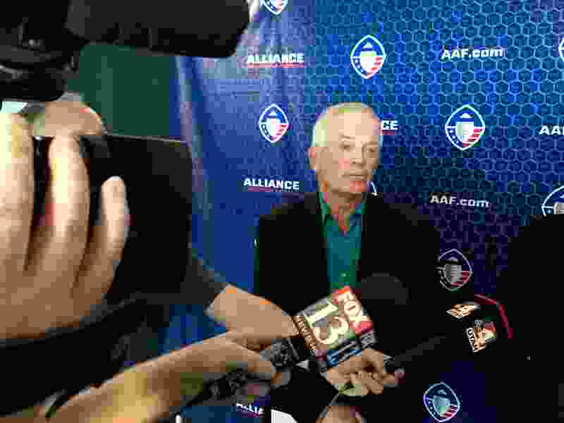 Former Ute football coach Dennis Erickson will lead Salt Lake's team in startup league