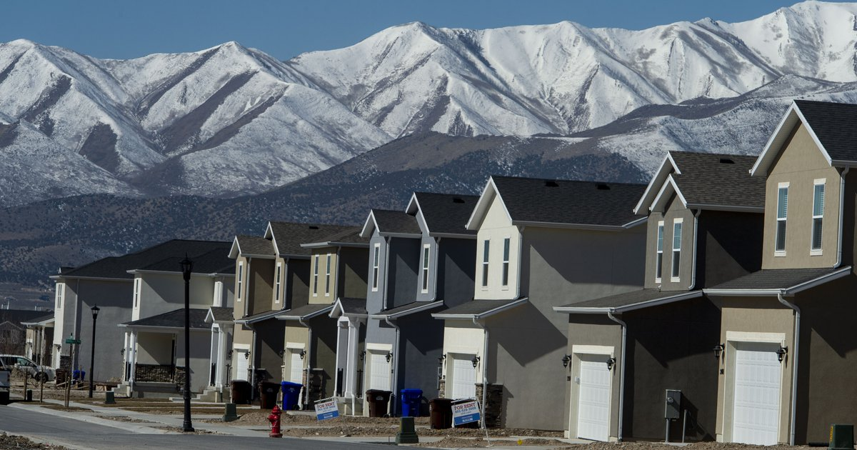 Utah births plummet but the states population continues...