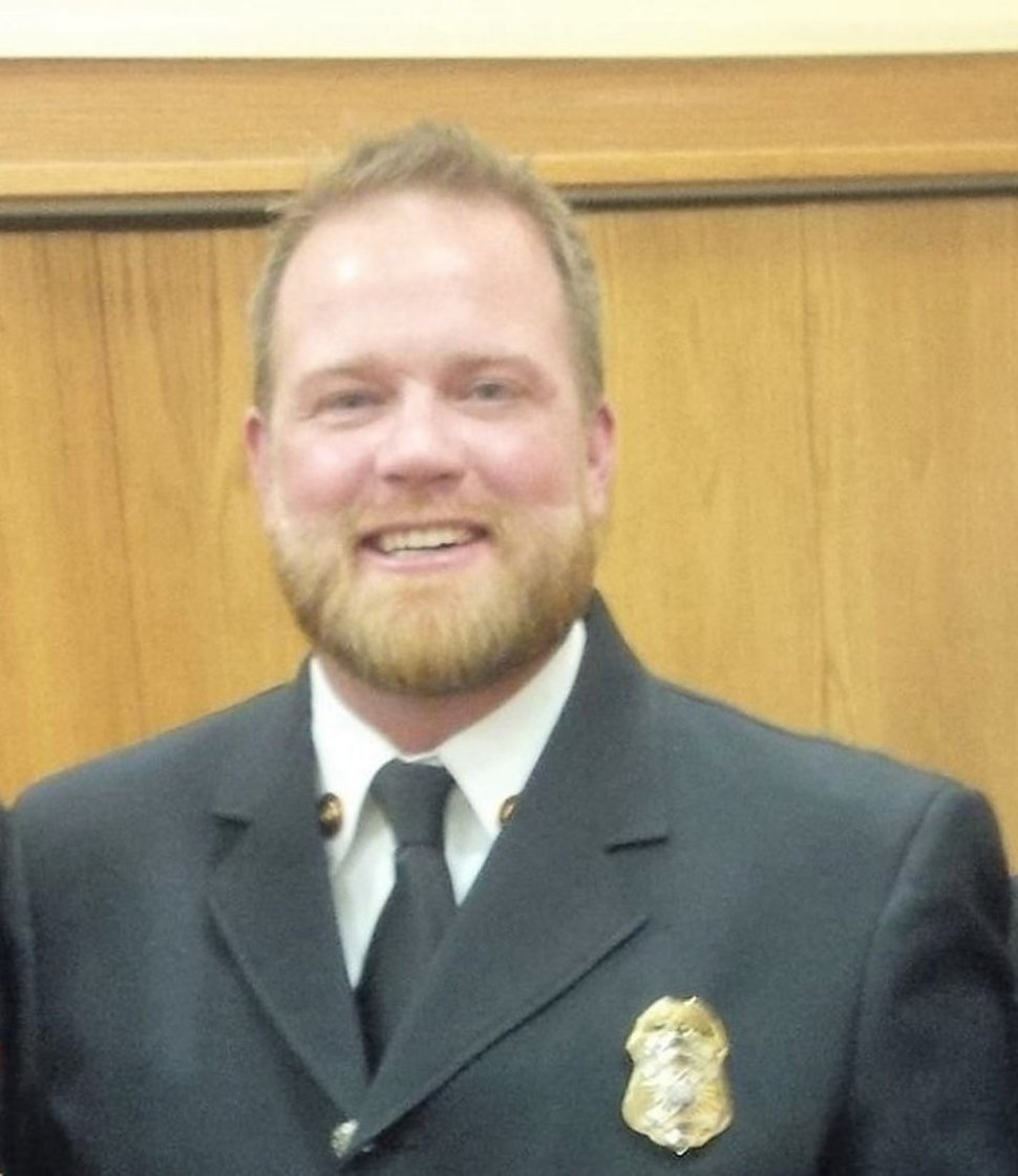 (Courtesy photo) Fire Marshal Bryan Thatcher