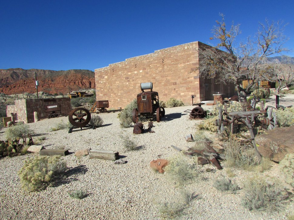 (Tribune file photo) The Wells Fargo Express Station, part of the Silver Reef Museum in the southern Utah ghost town of Silver Reef, about 15 miles northeast of St. George.