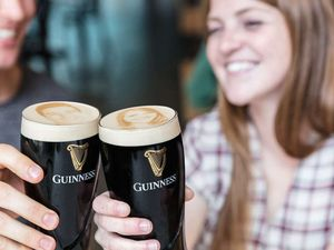 """(Photo courtesy of Guiness Storehouse)  Park City's Flanagan's on Main will sell """"Stouties"""" — a selfie in the foam of your beer —  during the opening weekend of the Sundance Film Festival."""