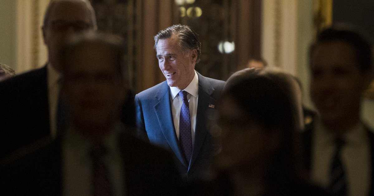Letter: When will Romney stand up to Trump?