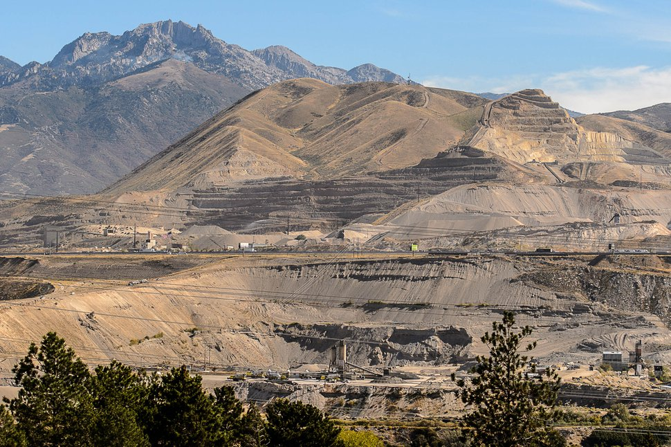 Trent Nelson | The Salt Lake Tribune Geneva Rock's operations at Point of the Mountain, straddling Utah and Salt Lake counties, Tuesday, Sept. 22, 2015.