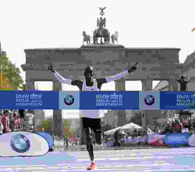 Gladys Cherono beats Ruti,Dibaba to win women's race at Berlin Marathon