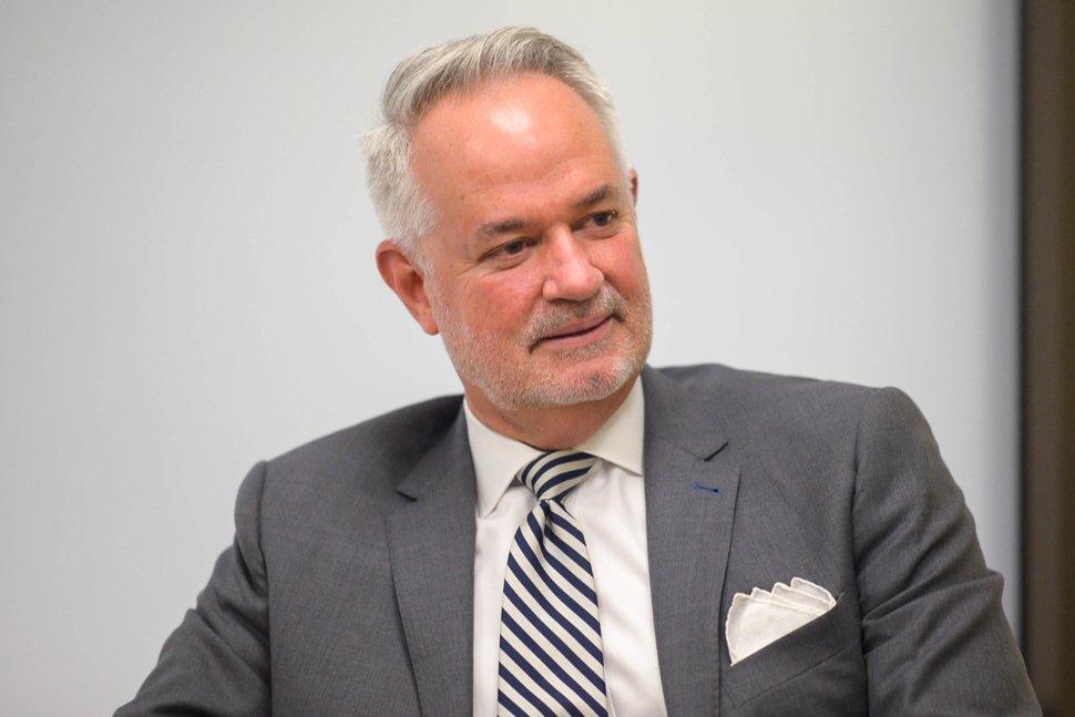 (Trent Nelson | Tribune file photo) Inland Port Executive Director Jack Hedge in Salt Lake City, Aug. 15, 2019.