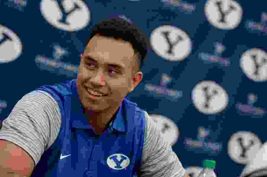BYU tight end Moroni Laulu-Pututau out for remainder of season with an ACL injury