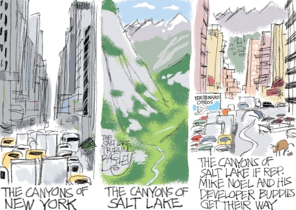 (Pat Bagley | The Salt Lake Tribune) This Pat Bagley cartoon appears in the Friday, March 2, 2018, Salt Lake Tribune.