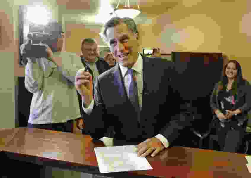 Tribune Editorial: Romney should trash his extreme views on immigration and lead out with a solution