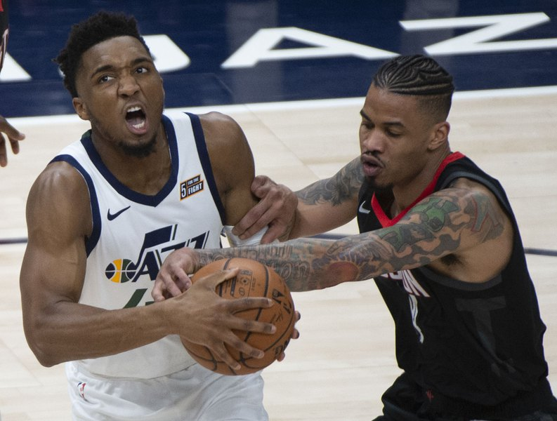 70505f63c2f Donovan Mitchell went on the attack against the Rockets in Game 4 and  Houston couldn t stop him. A harbinger for Game 5