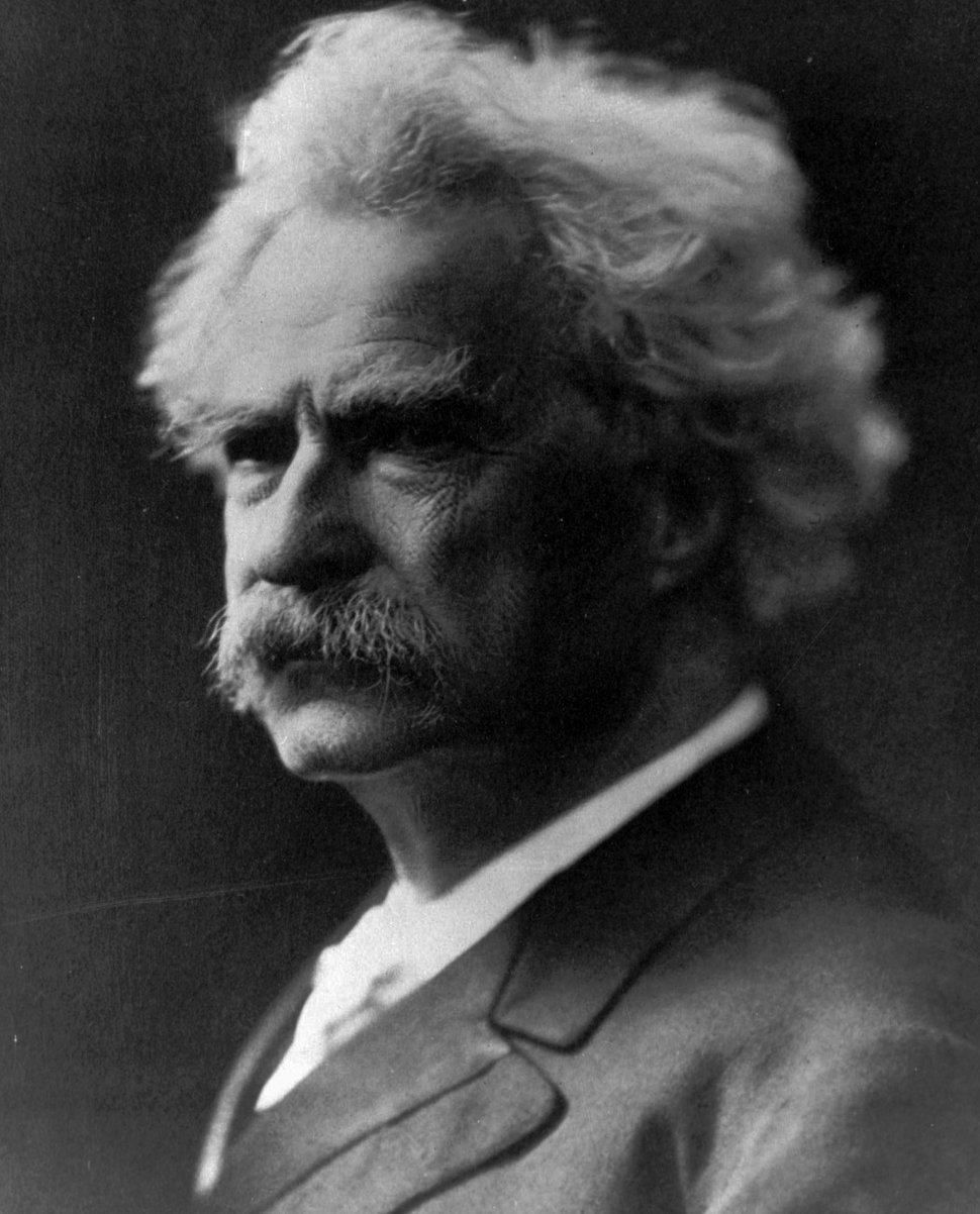 (AP file photo)This undated photo shows author Samuel Clemens, who wrote under the pen name