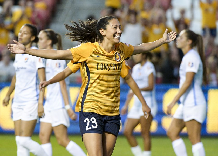 Utah Royals FC forward Christen Press named NWSL Player of the Month