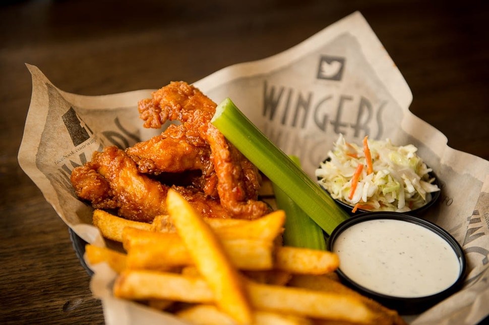 (Trent Nelson | The Salt Lake Tribune) Sticky Fingers at the revamped Wingers Restaurant & Alehouse in Murray.