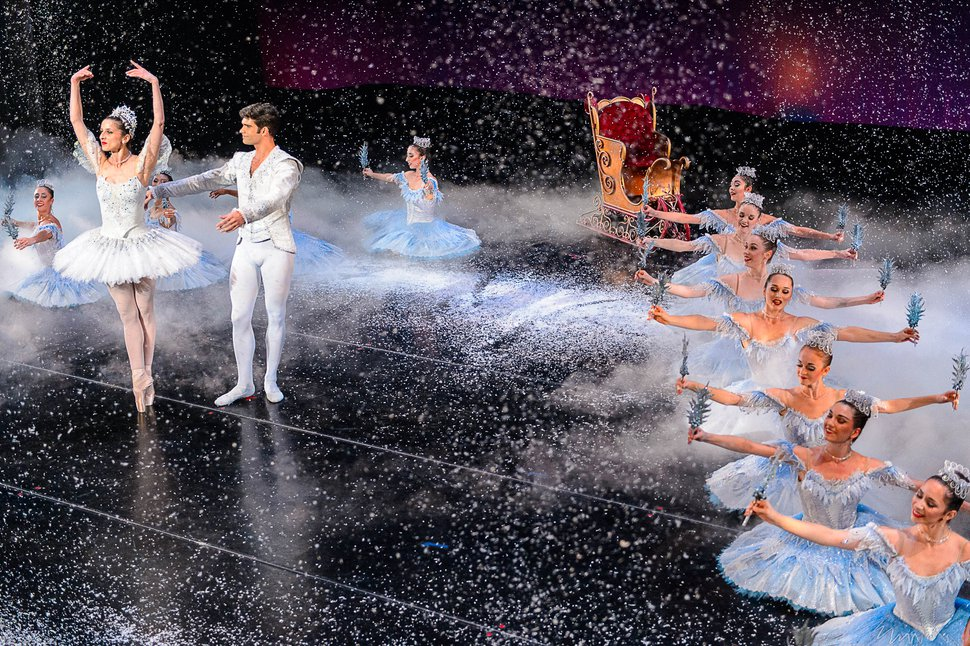 Trent Nelson | The Salt Lake Tribune Ballet West's dress rehearsal for