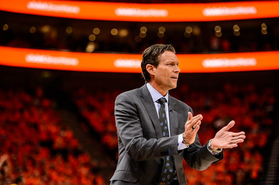 (Trent Nelson | The Salt Lake Tribune) Utah Jazz coach Quin Snyder said of his approach to development: