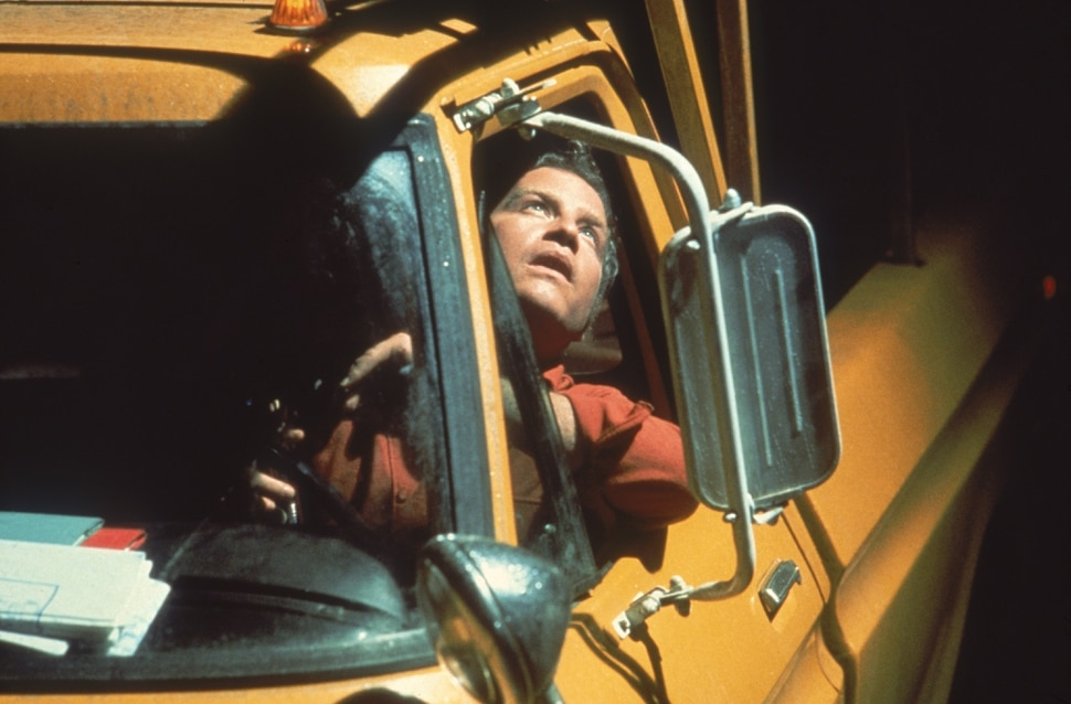 (Courtesy | Columbia Pictures) Utility worker Roy Neary (Richard Dreyfuss) sees something he can't explain, in a scene from Steven Spielberg's 1977 science-fiction classic Close Encounters of the Third Kind, being released in theaters for its 40th anniversary.