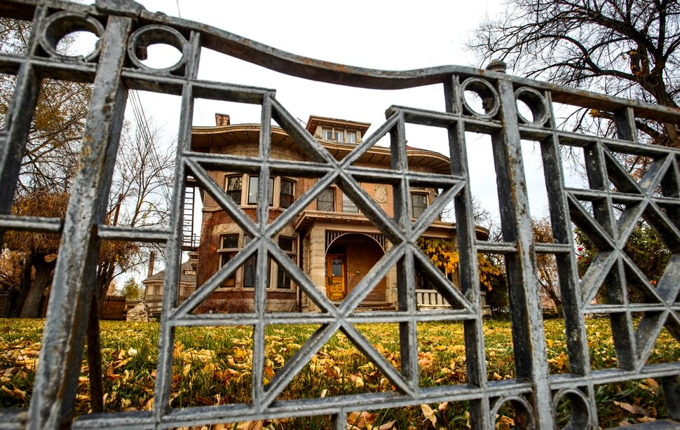 (Steve Griffin | The Salt Lake Tribune) The Fisher Mansion in Salt Lake City was built in 1893 for Albert Fisher, president of the Fisher Brewing Company.