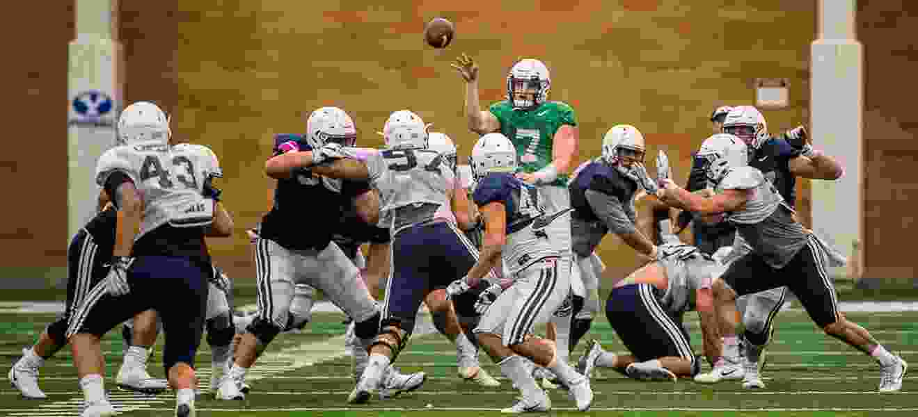 Will BYU 'empty the tank' in Saturday's spring scrimmage or keep the wraps on new offense?