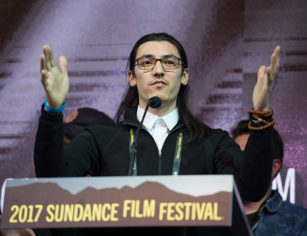 Rick Egan   The Salt Lake Tribune Jeff Orlowski receives the Audience Award: U.S. Documentary, for ÒChasing Coral,Ó at the 2017 Sundance Film FestivalÕs Awards Ceremony, Saturday, January 28, 2017.